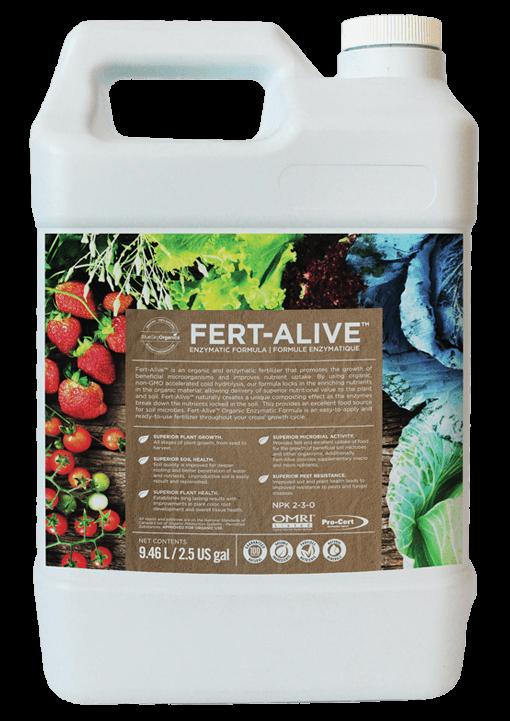 BlueSky Organics Fert-Alive Container