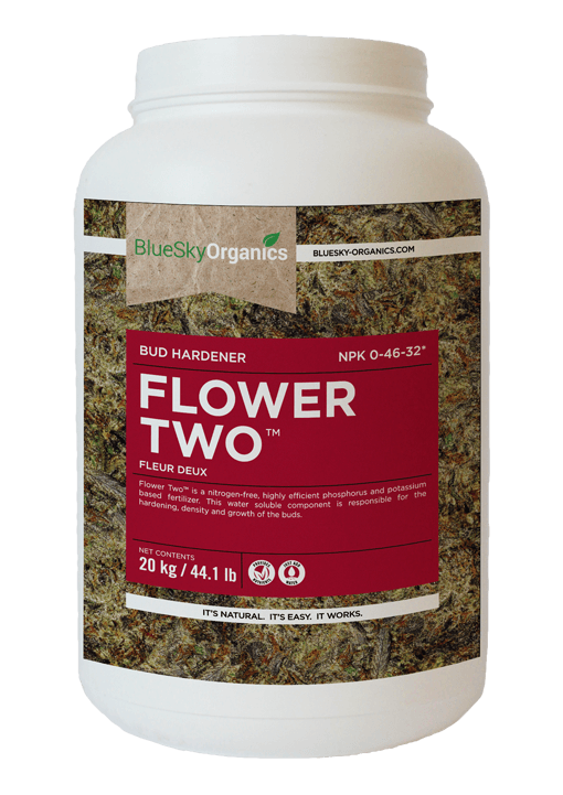 BlueSky Organics Flower Two container
