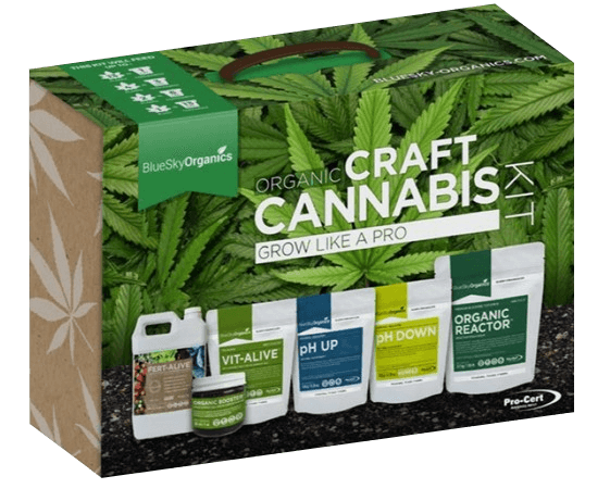 BlueSky Organics - Organic Craft Cannabis Kit