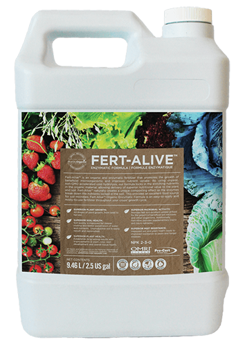 bluesky organics fert alive fertilizer container