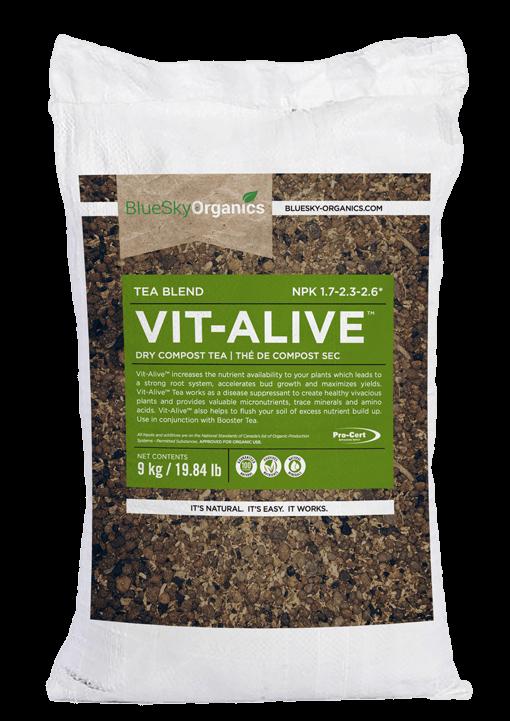 BlueSky Organics Vit-Alive micronutrient booster