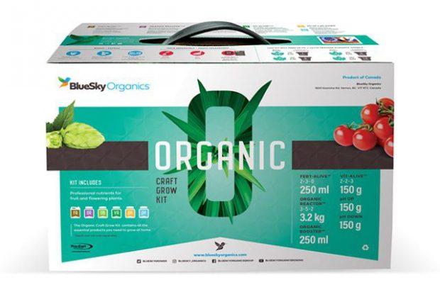 BlueSky Organics Craft Grow Kit Box