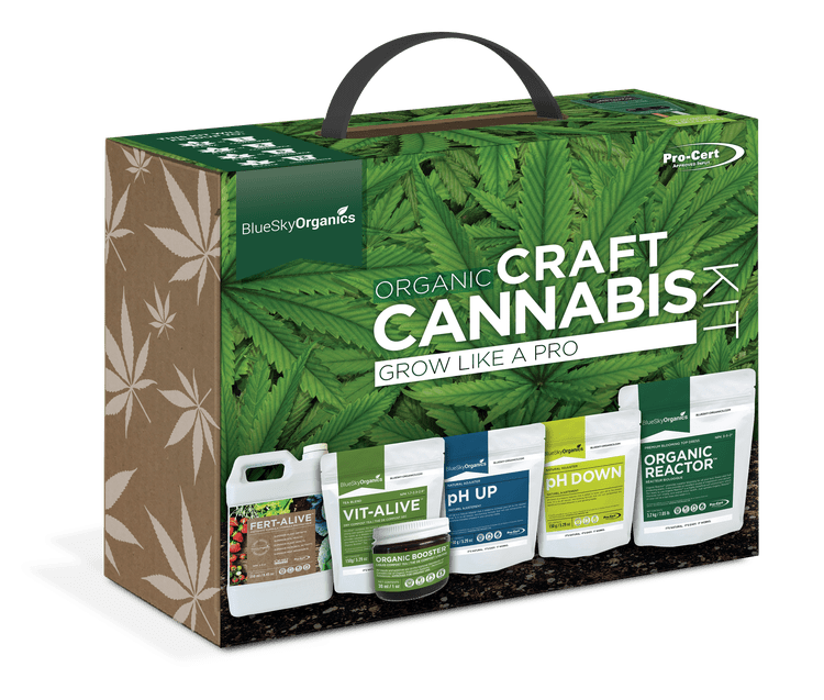 bluesky organics craft cannabis kit